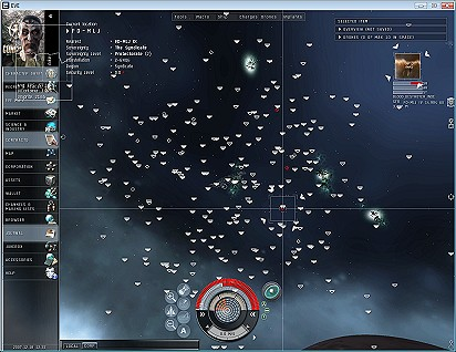 Eve Online - Salvaging Wrecks